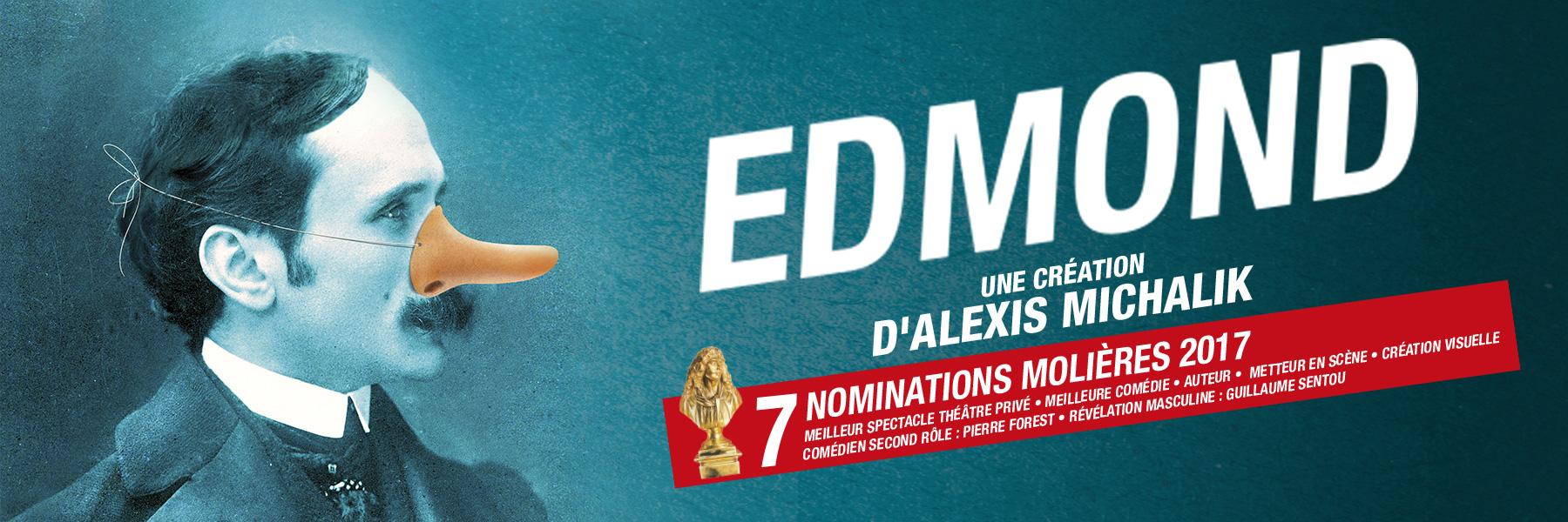 Edmond - Nominations Molières